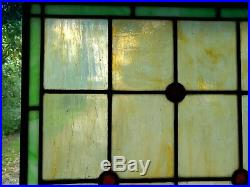 Antique American Stained Glass Window