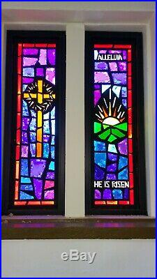 Antique Church Stained Glass Window's
