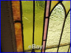 Antique Stained Glass Windows Top And Bottom Architectural Salvage