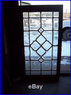 Beveled glass window cool center feature (Sg 1529)