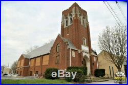 Casement Windows, Amber Stained Glass Trinity Luth. Pennsylvania Church Salvage