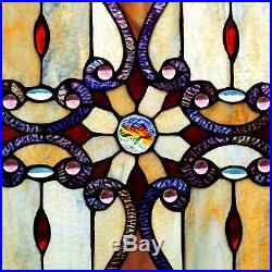 River of Goods Stained Glass Brandis Window Panel