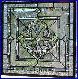 Stained Glass window hanging 23' square