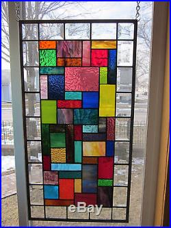 Symphony Stained Glass Windows Panel